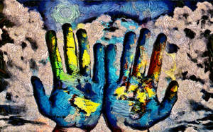 Painter's Hands by montag451