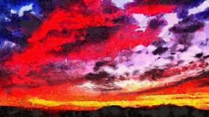 Arizona Sunset by montag451