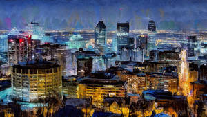 Cityscape - Montreal by montag451