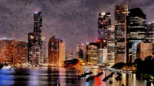 Brisbane Cityscape by montag451