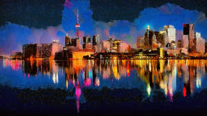 Toronto Cityscape by montag451