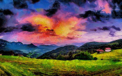Italian Countryside by montag451