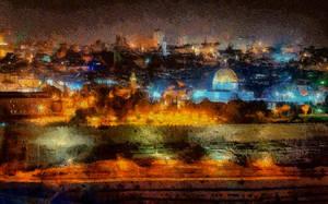 Jerusalem Cityscape by montag451