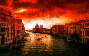 Venice Cityscape by montag451