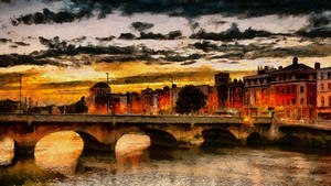 Dublin Cityscape by montag451