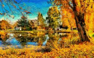 Idyllic Autumn by montag451