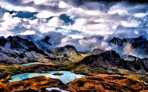 Mountainscape by montag451