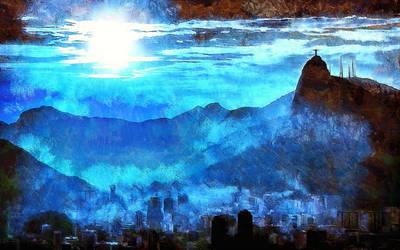 Rio de Janeiro Cityscape by montag451