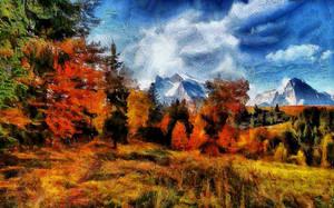 Rocky Mountain Autumn by montag451