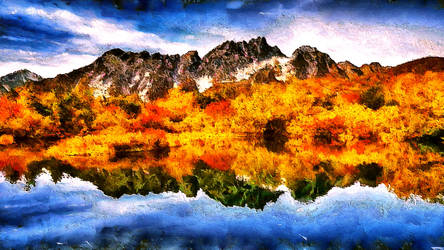 Autumn Reflections by montag451