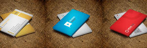 Corporate Business Cards Bundle #4 by nazdrag