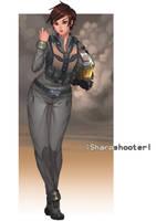 Staff Sergeant Dawn Evans, callsign Sharpshooter by Shoguneagle