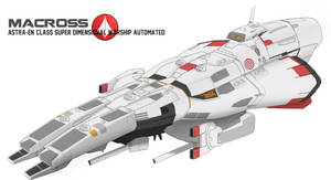 Astra En Class Super Dimensional Warship Automated by Shoguneagle