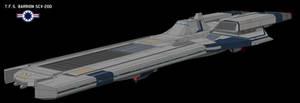 Barrion-class advance strike carrier by Shoguneagle