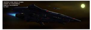 Vigilance-class medium cruiser by Shoguneagle