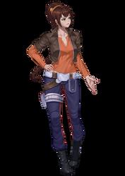 Leila Solo, runaway princess and hotshot smuggler by Shoguneagle