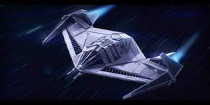 Sienar Fleet Systems Shadow TIE by Shoguneagle