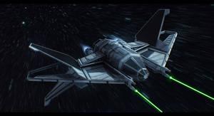 Sienar Fleet Systems Crusader TIE by Shoguneagle
