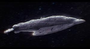 Mon Calamari Star Tide-class Star Cruiser by Shoguneagle