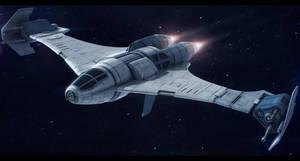 Slayn and Korpil K-80 Swivel starfighter by Shoguneagle