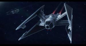 Sienar Fleet Systems Swift TIE by Shoguneagle