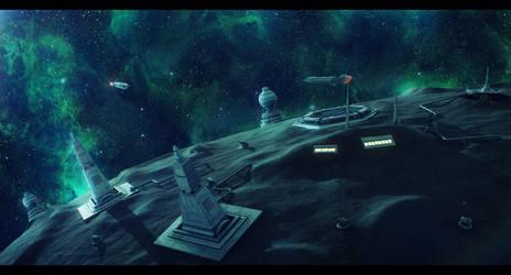 Republic Fortress of Regix Prime by Shoguneagle