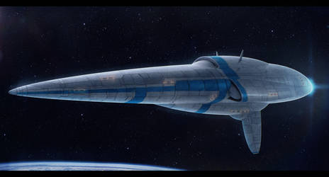 Terran Extragalactic Star Cruiser by Shoguneagle