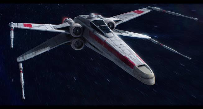Incom T-65A Republic X-Wing by Shoguneagle