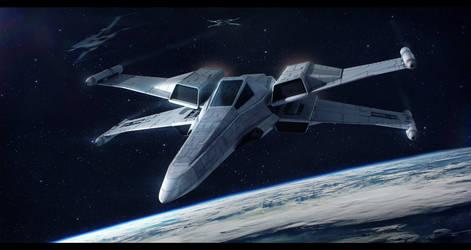 Incom/Frei-Tek T-89 X-Wing Ultra by Shoguneagle