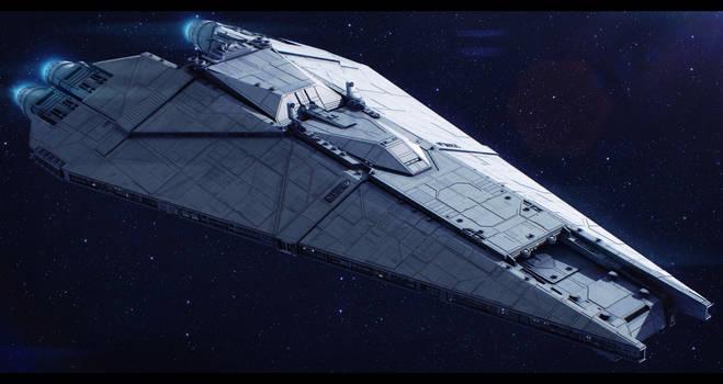 CEC Freedom-class star defender by Shoguneagle