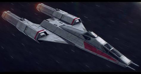 Koensayr/Subpro BTL-Y6 Super Y-Wing by Shoguneagle