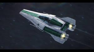 Alliance Engineering RZ-1+ A-Wing Plus by Shoguneagle