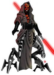 Darth Maul, Dark Lord of the Sith by Shoguneagle