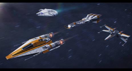 Lando's Strike Team by Shoguneagle