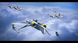 Distant Suns Squadron by Shoguneagle