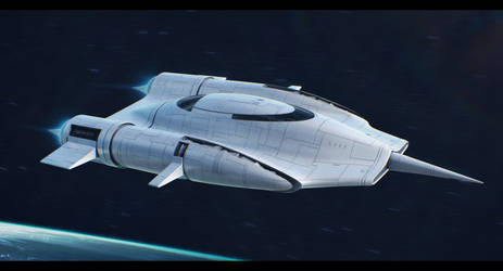 Alderaan Royal Engineers Starblossom-class yacht by Shoguneagle