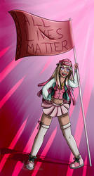 Maru Yokokume-Ultimate activist by Lucy-Paint