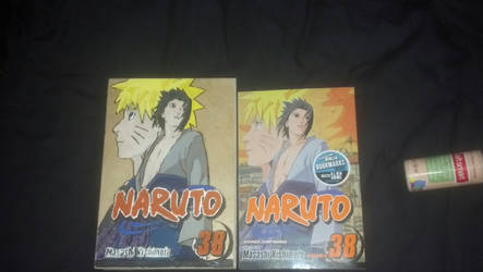 Naruto Shippuden Volume 38 cover wood burn by JulietTenten