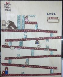 Donkey Kong arcade game woodburn by JulietTenten