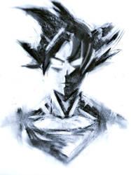 Dragonball Z - Goku Charcoal by MultiLock