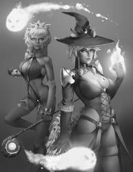 Mage duo by Chacobo