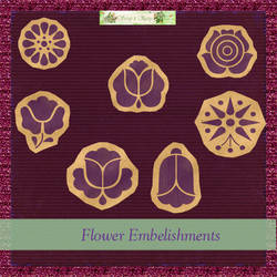 Flower Embellishment Pack by FullMoonArtists