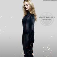 S.H.I.E.L.D. agent Anne Rogers by ZombieApopsicle
