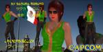 Street Fighter: Noembelu-Leather Casual (FanMod) by CrystalRomuko