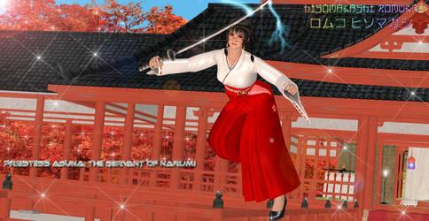 Priestess Asuna: The Servant of Narumi by CrystalRomuko