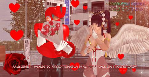 MM x DOA: Magnet x Nyo - Happy Valentine's Day by CrystalRomuko