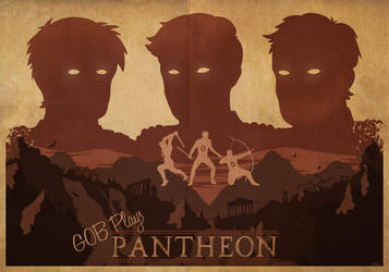 GOB Plays Pantheon - Worn-out poster by IlI4n