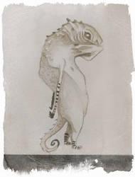 Lizard Priest by UnitiveOdolwa