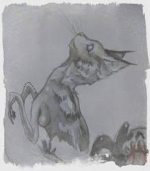 Cat Shamaness by UnitiveOdolwa