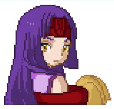 Empress Sanaki - pixel art - gift by CalixtaTepes